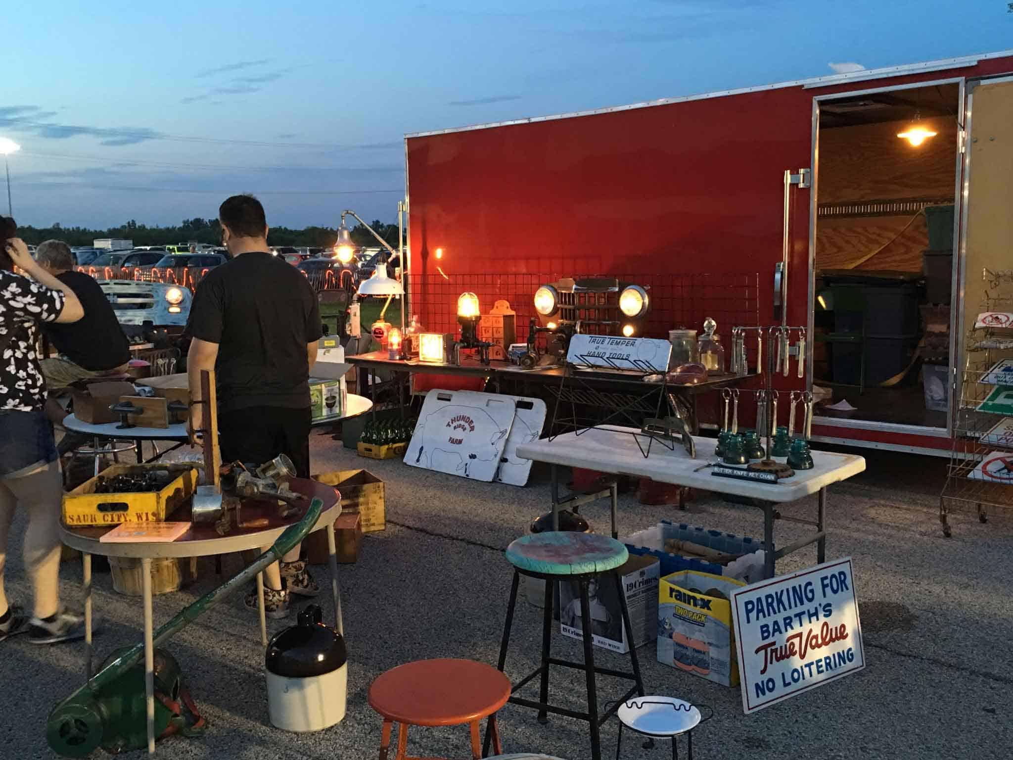 Grayslake Illinois Mid Night Flea Market