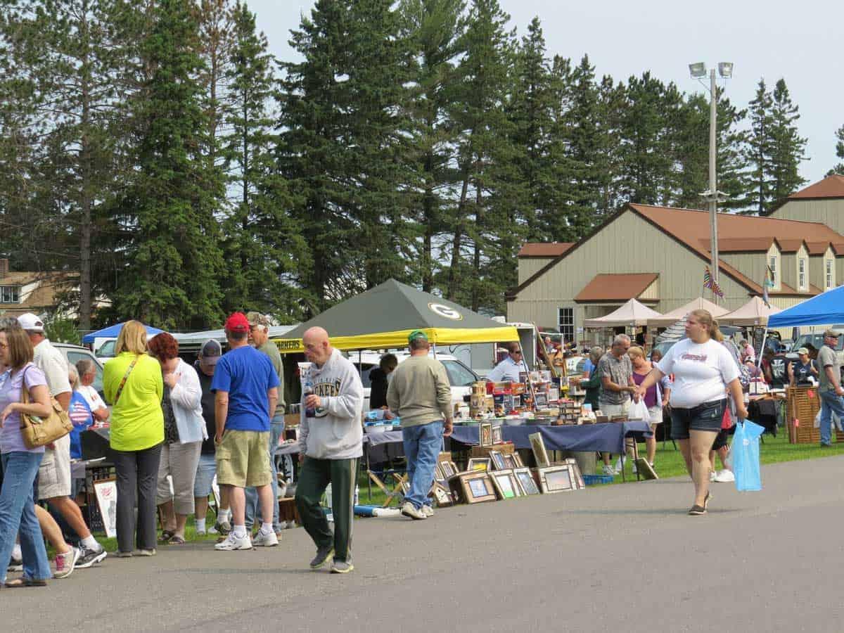 Antigo Wisconsin Flea Market