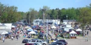 Shawano Wisconsin Outdoor Flea Market
