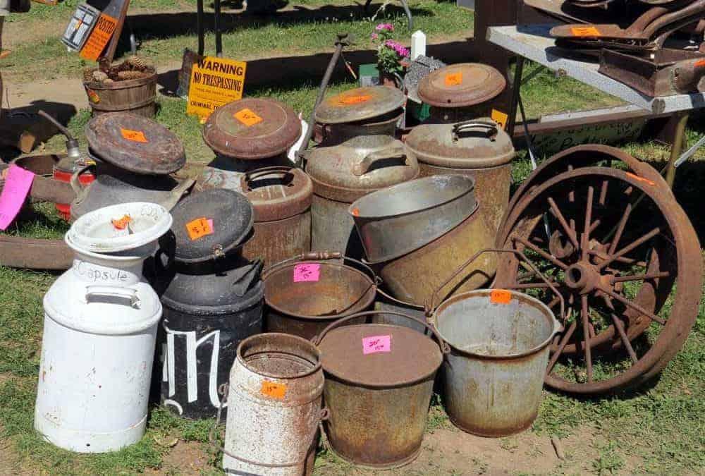 Antigo Wisconsin Flea Market Labor Day Weekend 2017