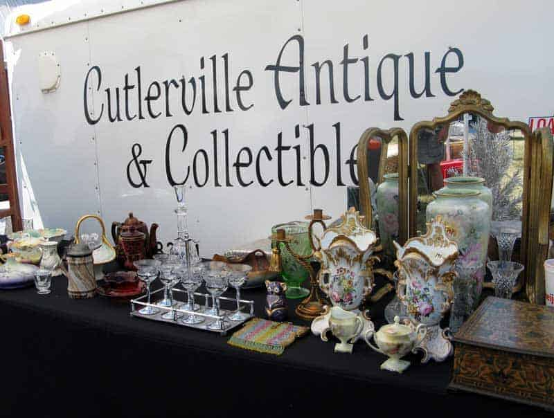 Perfect weather boosts dealer and visitor count at July 9 Centreville Michigan Antique Flea Market