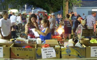 Belvidere Illinois Late Night Flea Market June 15, 2019
