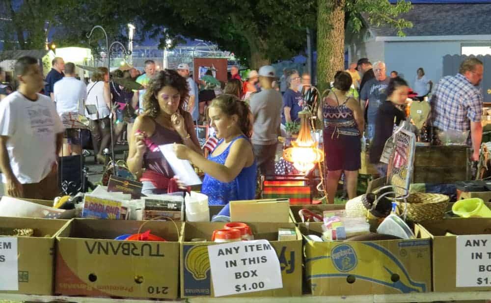 Belvidere Illinois Late Night Flea Market June 20