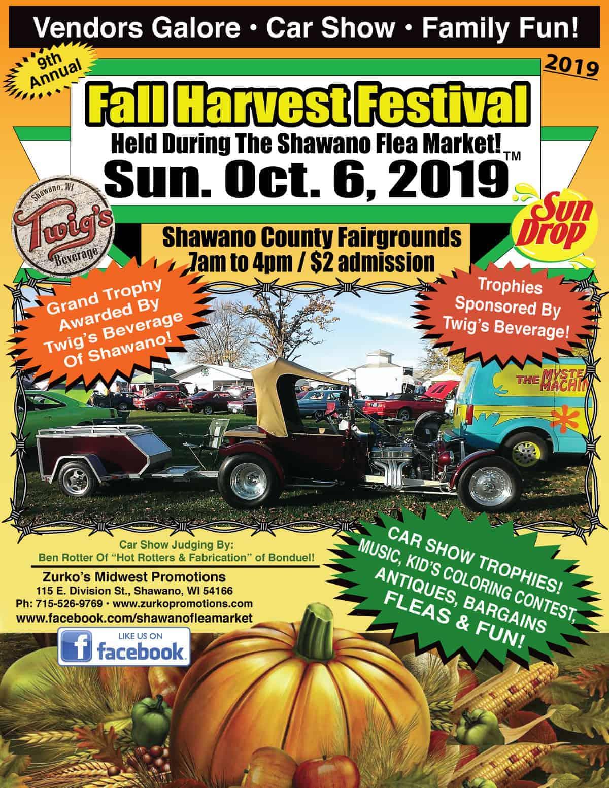 Shawano Wisconsin Flea Market Car Show