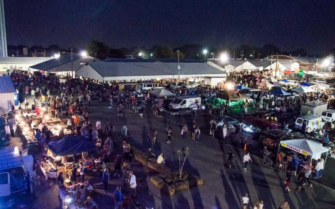 World Famous Wheaton All Night Flea Market August 17