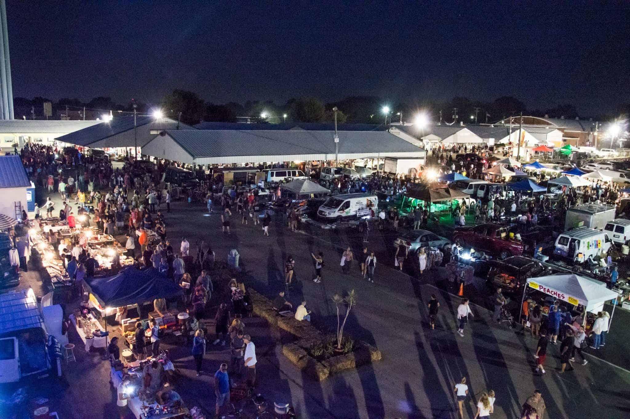 Wheaton Illinois All Night Flea Market 2019