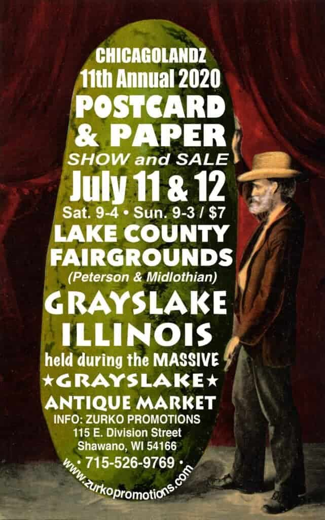 2020 Grayslake Postcard and Paper Show