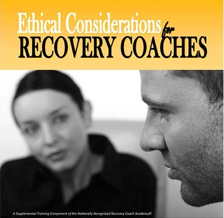 CCAR Ethical Considerations for Recovery Coaching