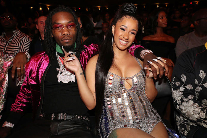 Cardi B and Offset Engaged