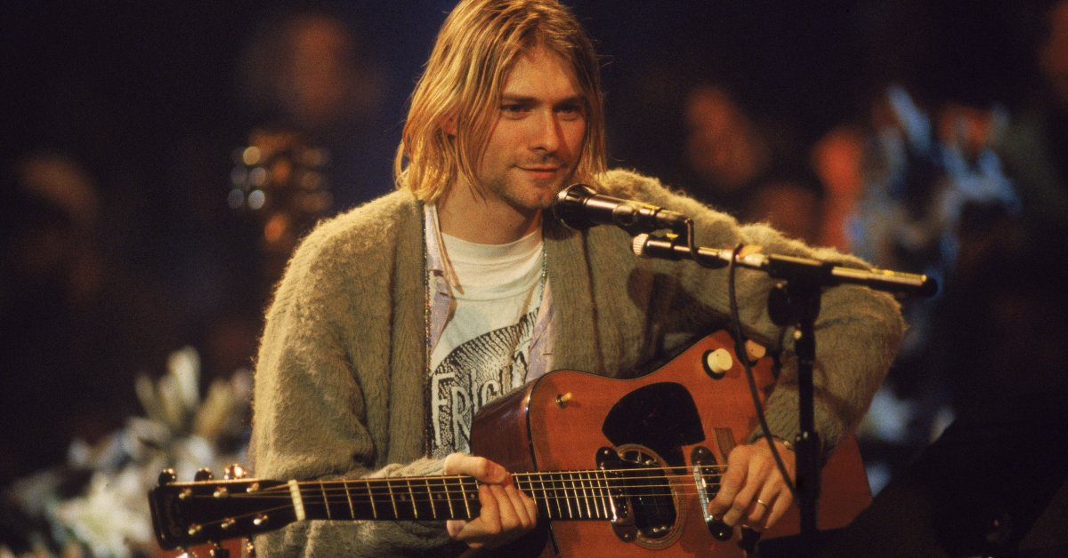 Kurt Cobain Sweater Up For Auction