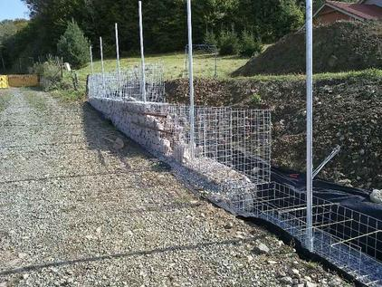 Build a Gabion Fence 3