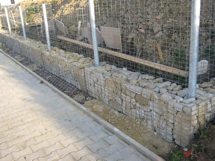 Build a Gabion Fence 5