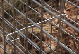 Build a Gabion Fence 9