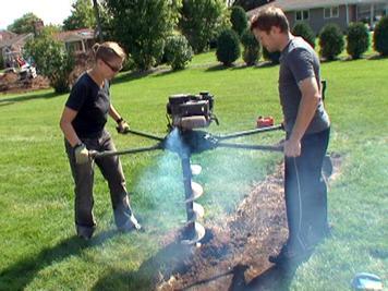 Step 3.3 Build a Gabion Fence