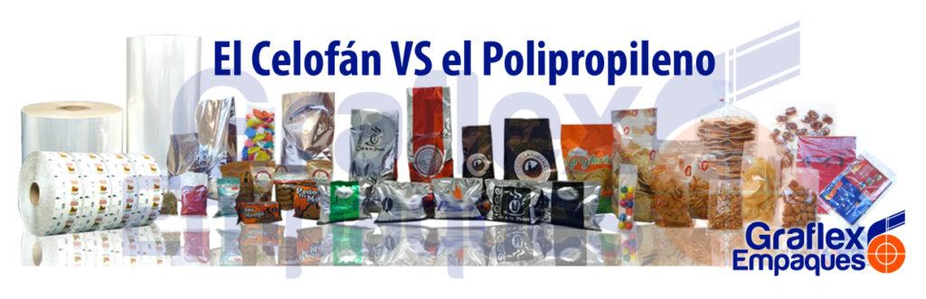 Celofán VS Polipropileno