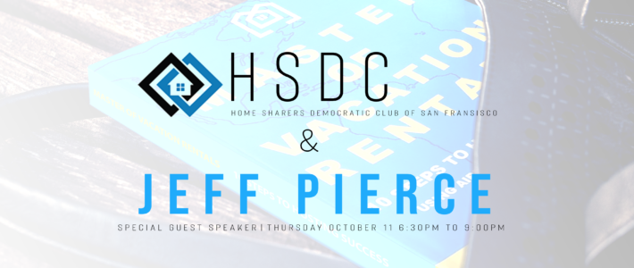 Jeff Pierce to Speak at HSDC Meeting – San Fransisco