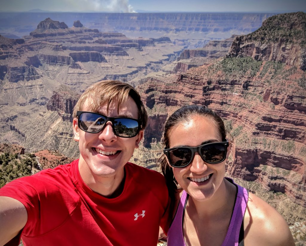 Grand Canyon with bae