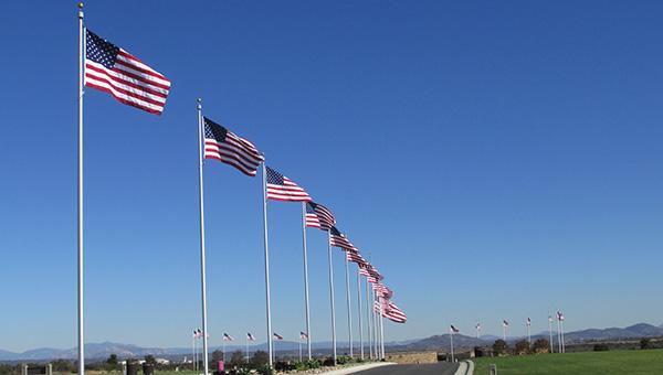 Flying Cross Society Dedicates Memorial at Miramar National Cemetery