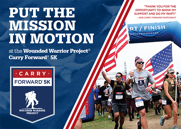 Carry Forward® 5K – SATURDAY – AUGUST 24, 2019