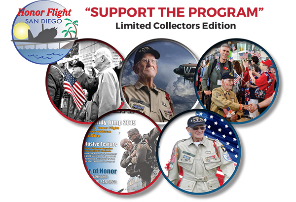 """San Diego Businesses """"Support Honor Flight San Diego"""""""