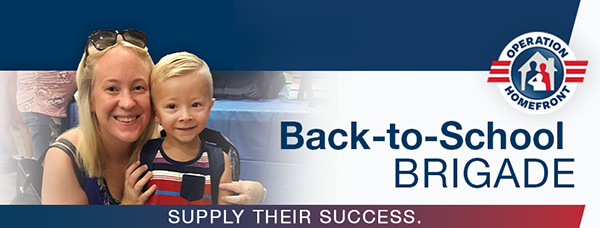 500 San Diego military children to receive backpacks and school supplies (August 17th)