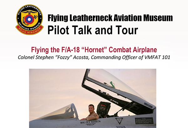 Pilot Talk and Tour – August 24th