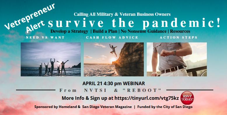 Vetrepreneur – Join us Tuesday, April 21 at 4:30pm