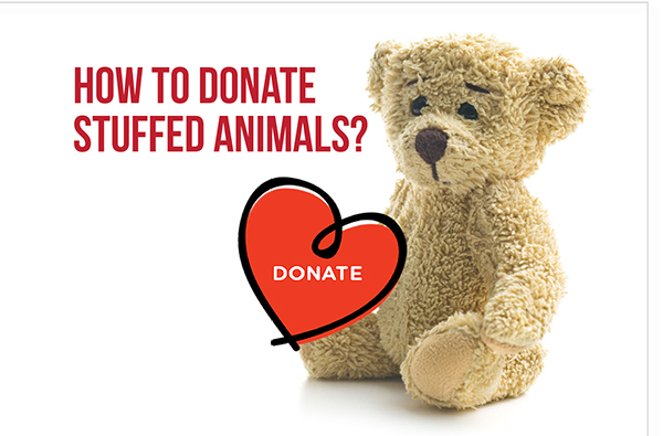 How to Donate  Stuffed Animals?