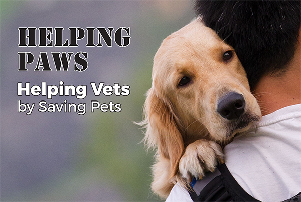 Helping Paws – Helping Vets by Saving Pets