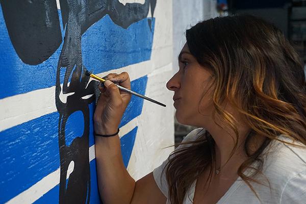 Veteran Artist Spotlight: Luz Helena Stacey Thompson