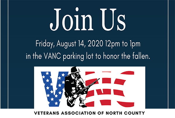 VANC Remembrance Ceremony Aug 14th