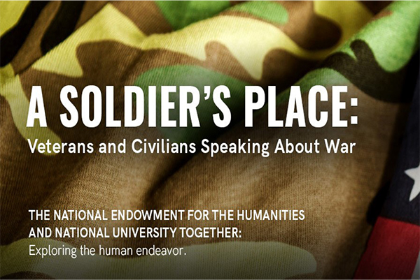 """""""A Soldier's Place"""" – Veterans and Civilians Speaking About War"""