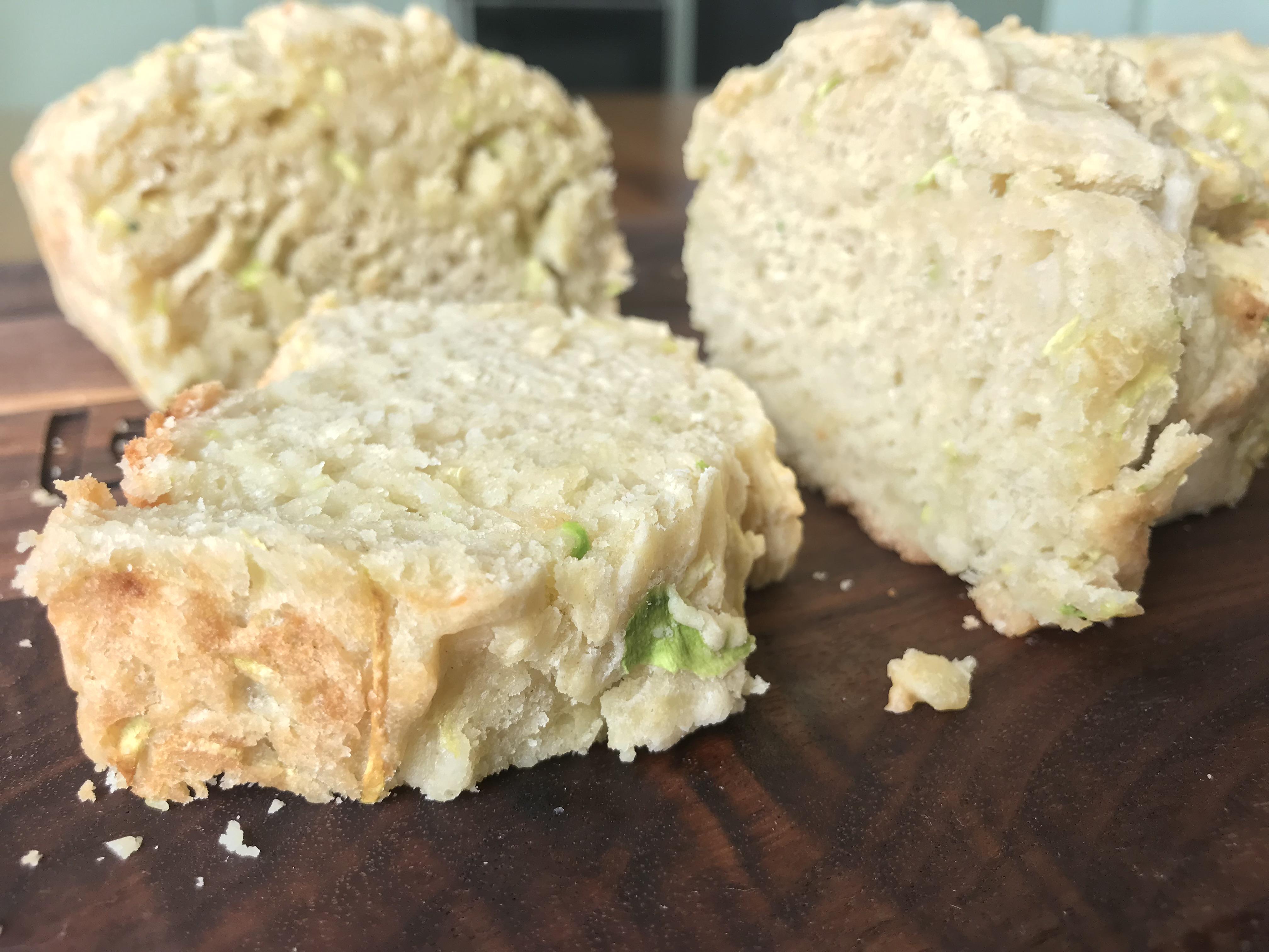 Cannabis Parmesan Zucchini Bread
