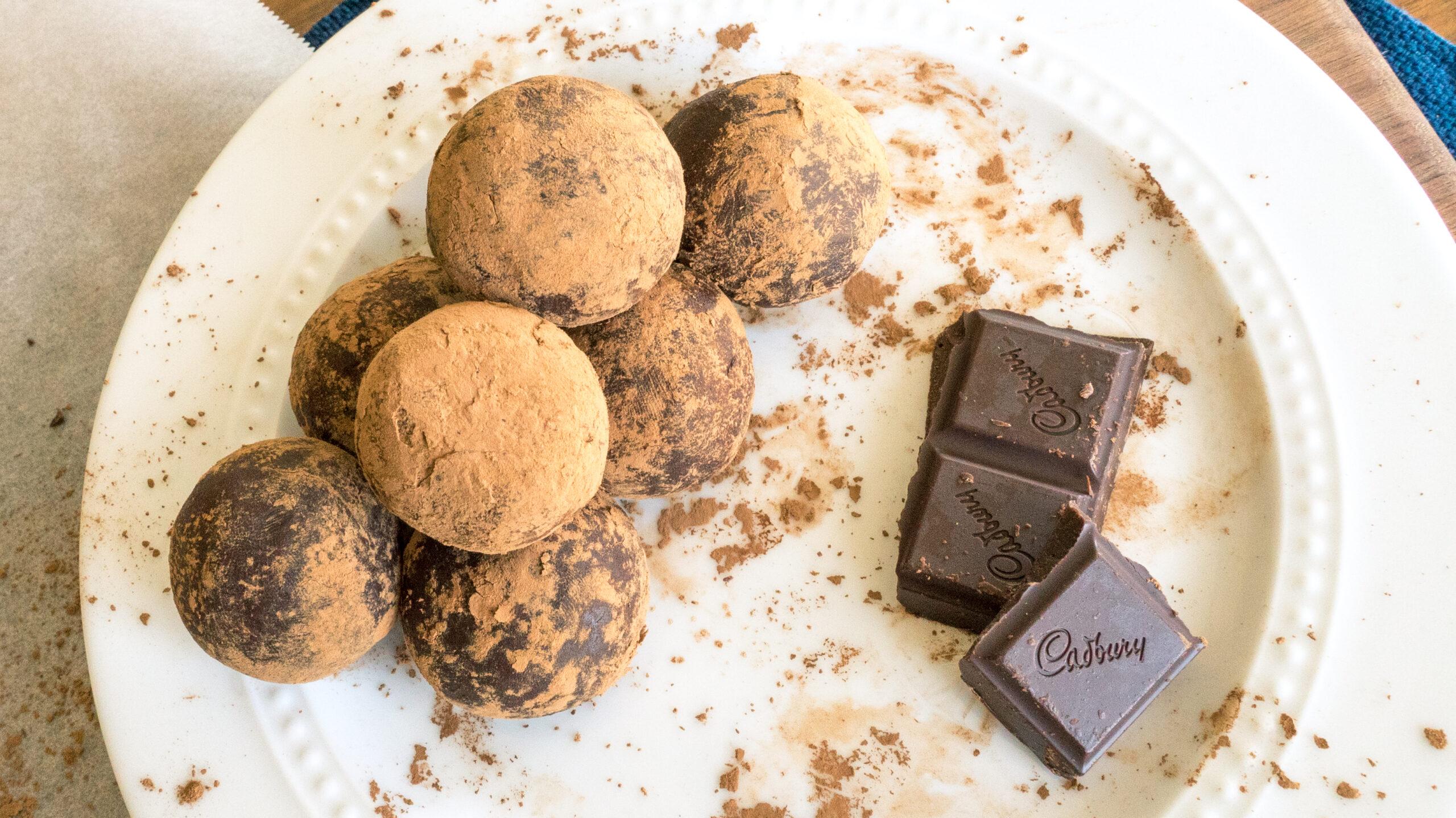 Infused Chocolate Truffles