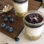 Blueberry Cheesecake Parfait || Life Above the Clouds
