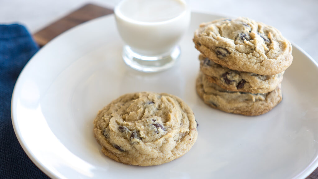 Cream Cheese Chocolate Chip Cookies || Life Above the Clouds