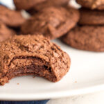 Dark Chocolate Espresso Cookies    Life Above the Clouds