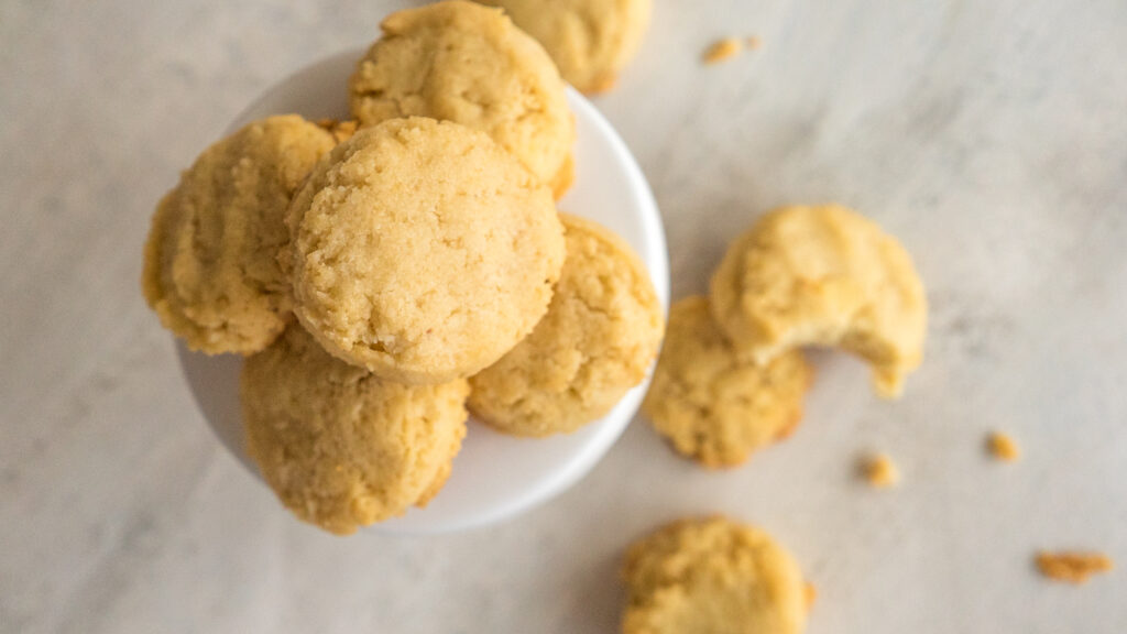 Almond Flour Biscuits    Life Above the Clouds
