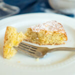 Lemon Almond Cake || Life Above the Clouds