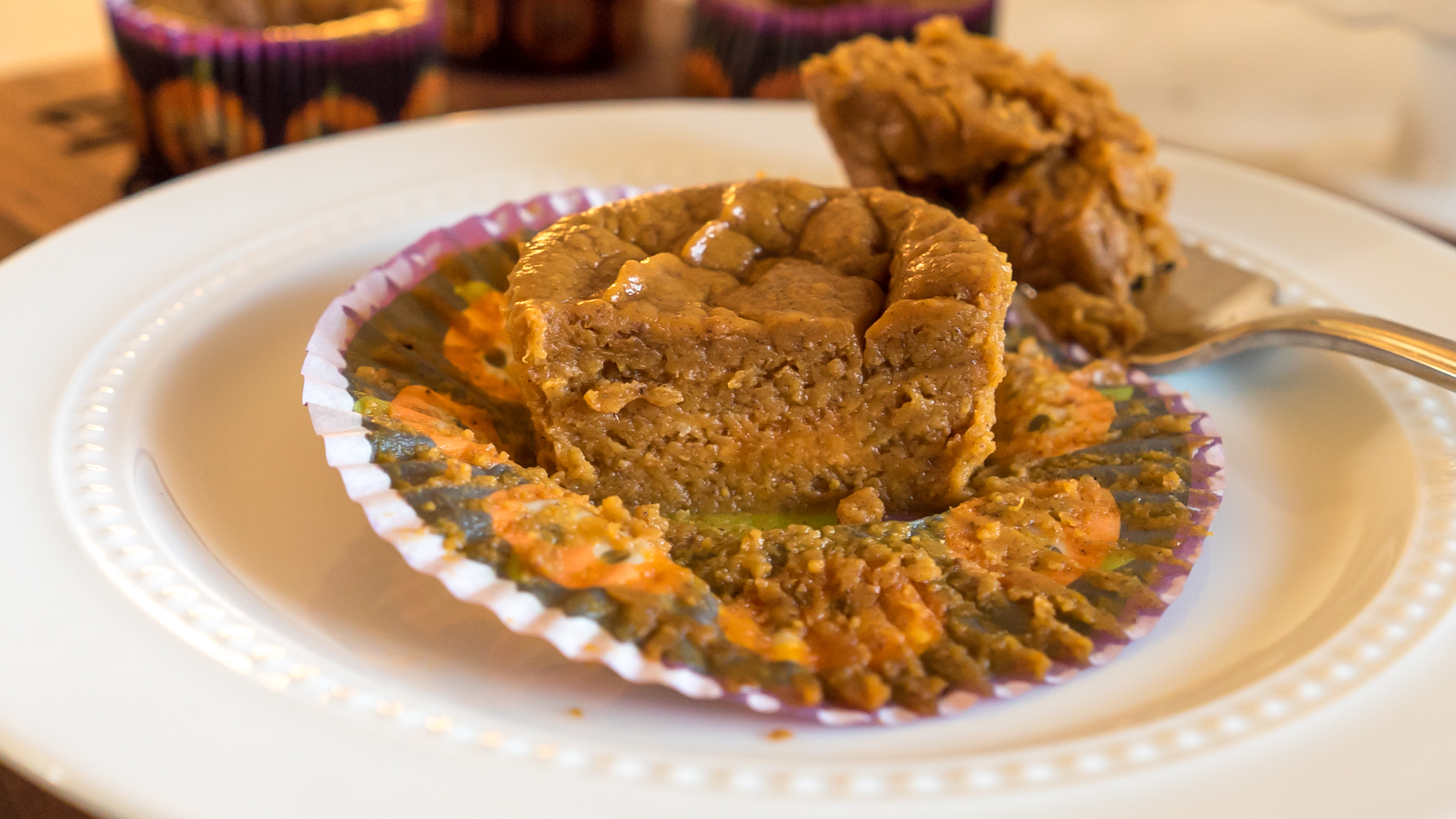 Gluten & Dairy-Free No Crust Mini Pumpkin Pies