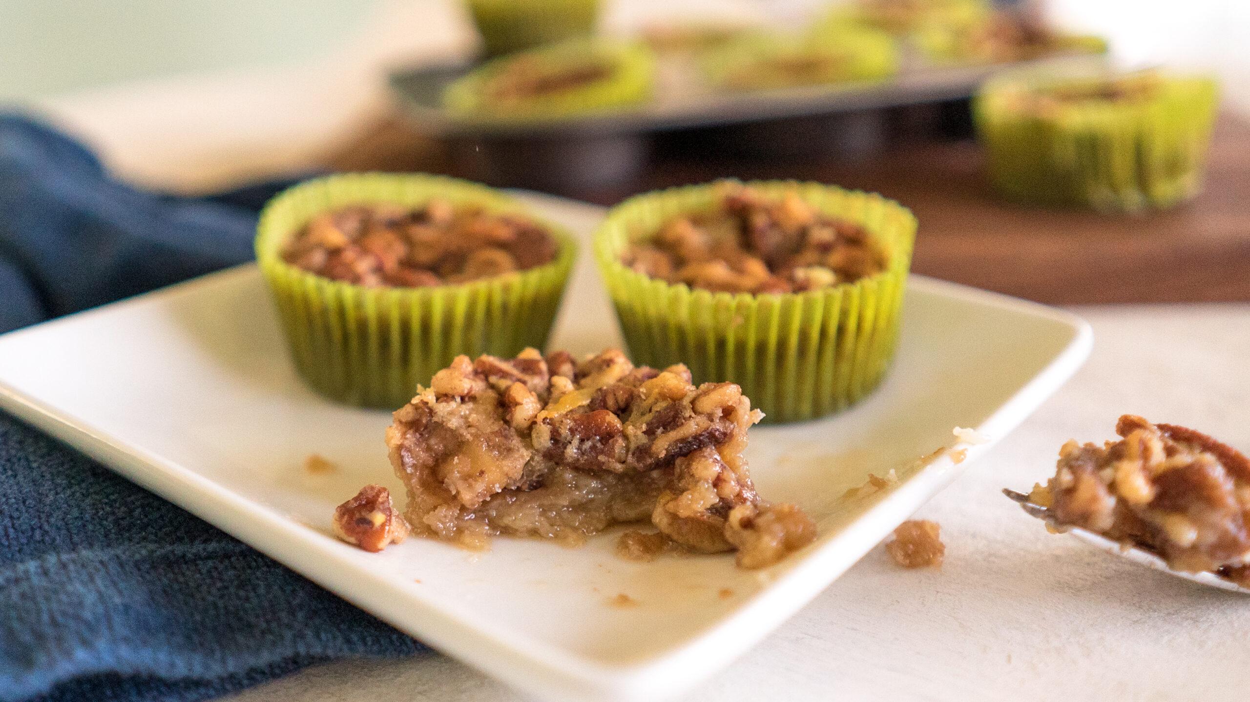 Gluten & Dairy-Free No Crust Mini Pecan Pies