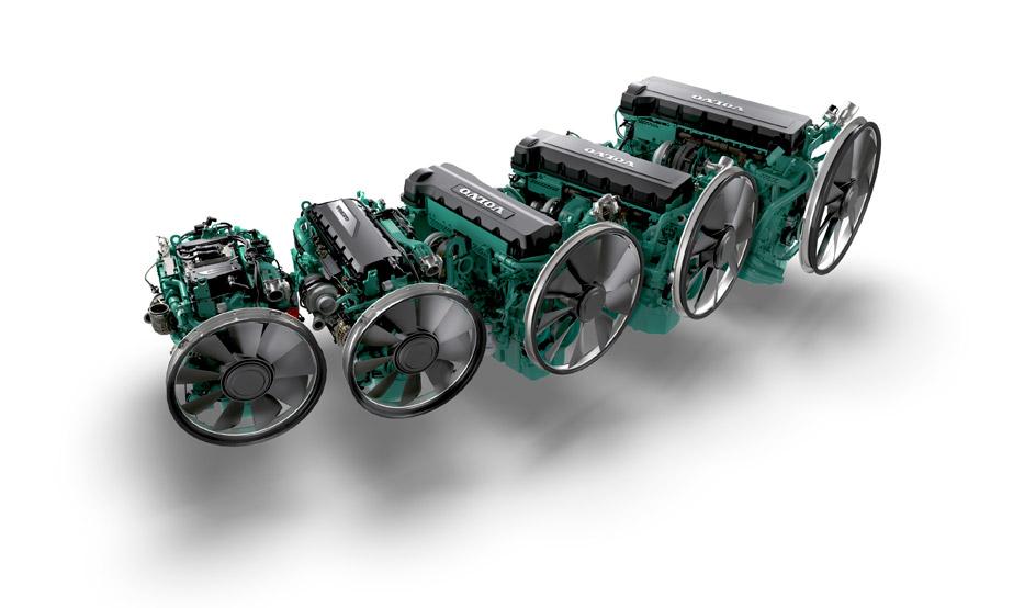 Volvo Penta Tier 4F Diesel Engines