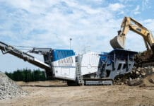 Kleemann's MC 120 Zi PRO Jaw Crushing Plant for Quarries