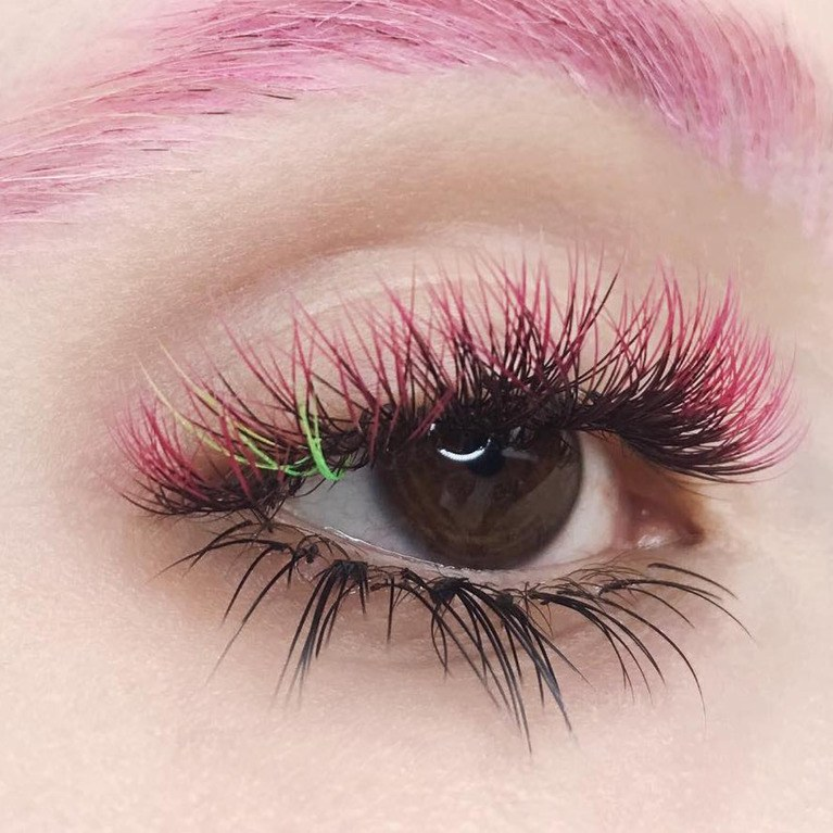 Colored/ Volume/ Upper & Lower Lashes