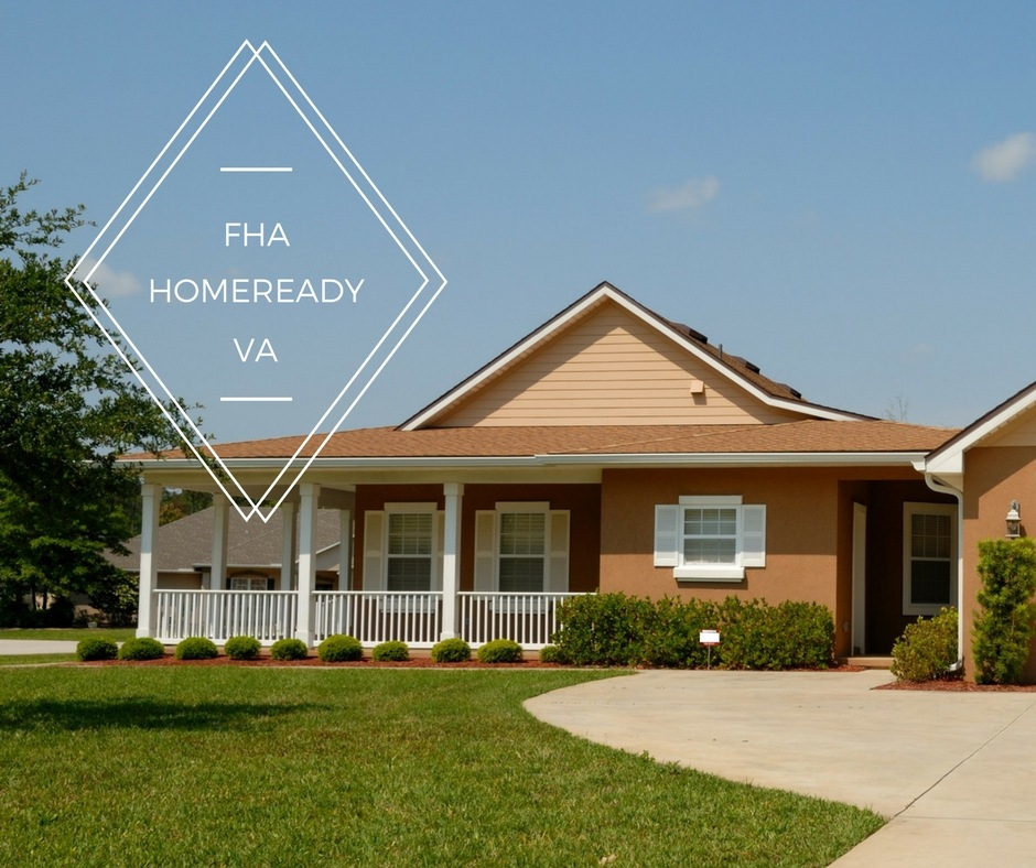 Homeownership on a Minimal Down Payment: FHA, HomeReady, and VA Loan Options