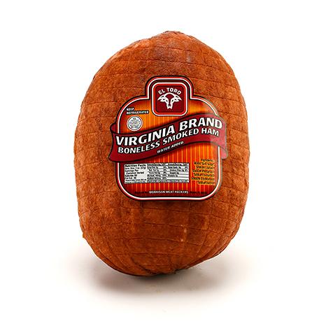 El Toro Mini Virginia Brand Boneless Smoked Ham