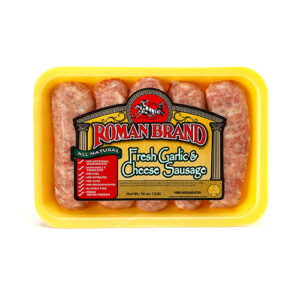 Roman Brand Fresh Garlic & Cheese Sausage
