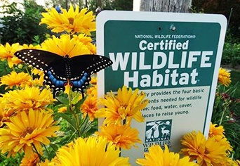 Register your property as a Certified Wildlife Habitat (CWH) today!