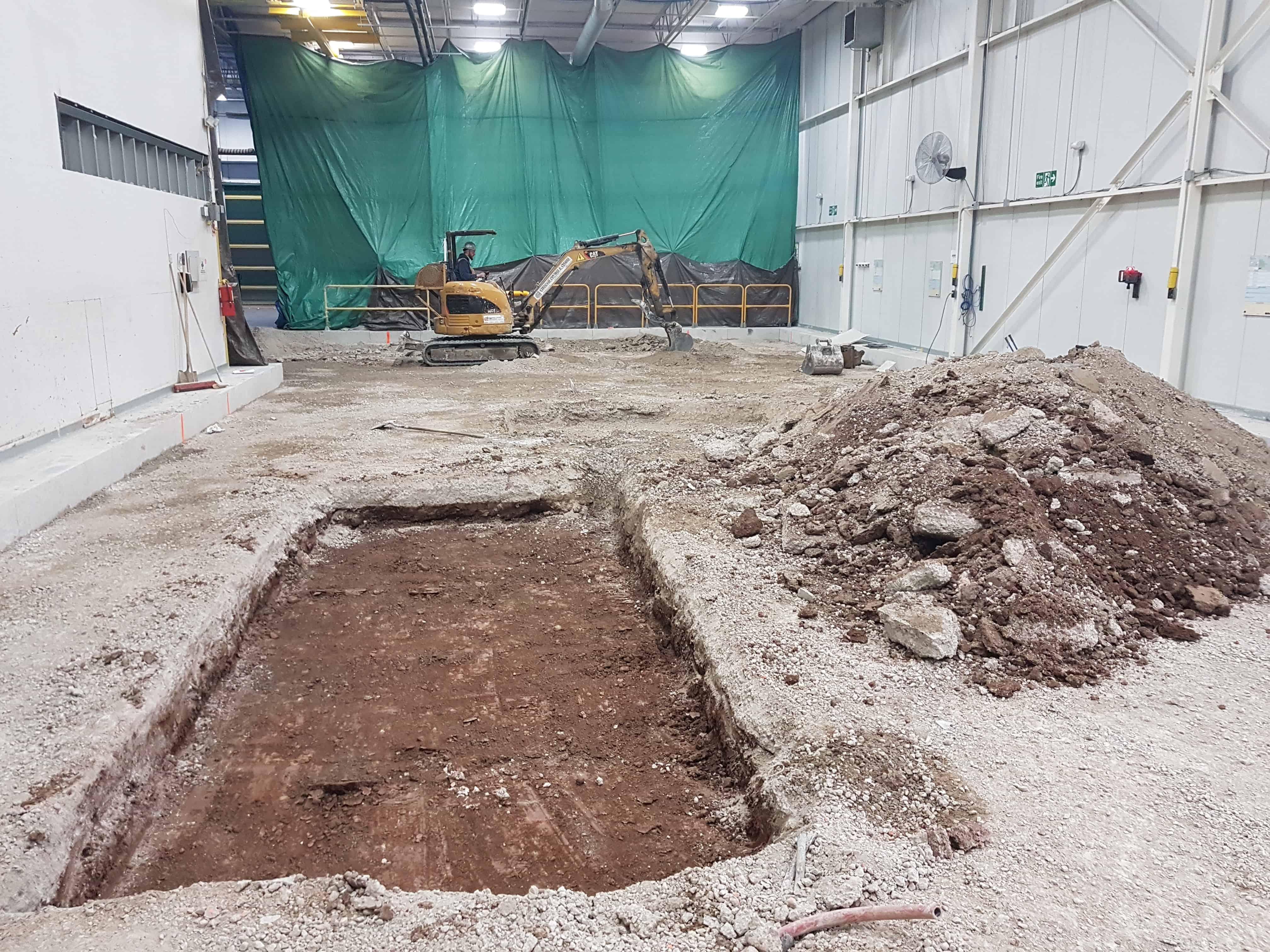 Montréal entrepreneur construction de base en béton