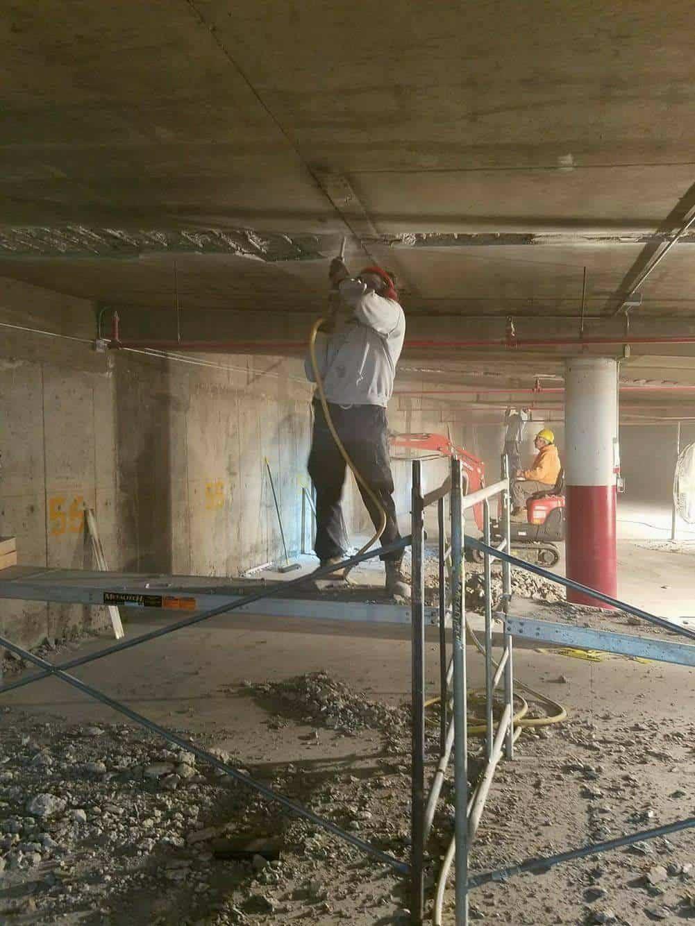 concrete underside repair